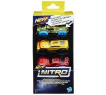 Hasbro Nerf Nitro Foam Car 3-Pack
