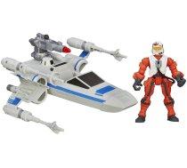 Hasbro Hero Mashers Resistance X Wing Vehicle & Pilot