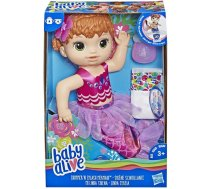 Hasbro Baby Alive Shimmer & Splash Mermaid Red Hair