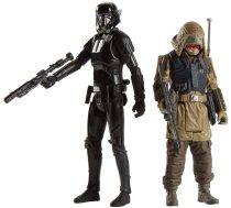 Hasbro Rogue One Imperial Death Trooper & Rebel Commando Pao