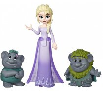 Hasbro Disney Frozen Elsa Small Doll With Troll Figures