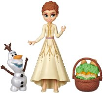 Hasbro Disney Frozen Anna & Olaf Small Dolls With Basket Accessory