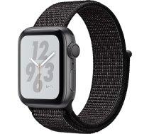 Apple Watch Nike+ Series 4 GPS, 40mm Aluminium Case with Nike Sport Loop