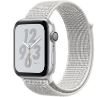 Apple Watch Nike+ Series 4 GPS, 44mm Aluminium Case with Nike Sport Loop