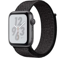 Apple Watch Nike+ Series 4 GPS, 44mm Space Grey Aluminium Case with Nike Sport Loop