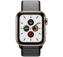 Apple Watch Series 5 40mm GPS + Cellular Gold Stainless Steel Case with Sport Loop