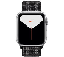 Apple Watch Series 5 40mm GPS Silver Aluminum Case with Nike Sport Loop