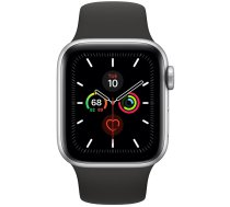 Apple Watch Series 5 40mm GPS Silver Aluminum Case with Sport Band