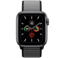 Apple Watch Series 5 40mm GPS Space Gray Aluminum Case with Sport Loop