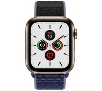 Apple Watch Series 5 44mm GPS + Cellular Gold Stainless Steel Case with Sport Loop