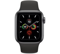 Apple Watch Series 5 44mm GPS + Cellular Space Gray Aluminum Case with Sport Band