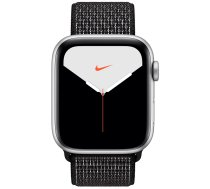 Apple Watch Series 5 44mm GPS Silver Aluminum Case with Nike Sport Loop