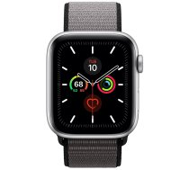 Apple Watch Series 5 44mm GPS Silver Aluminum Case with Sport Loop