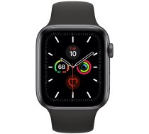 Apple Watch Series 5 44mm GPS Space Gray Aluminum Case with Sport Band