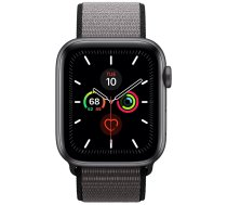Apple Watch Series 5 44mm GPS Space Gray Aluminum Case with Sport Loop