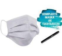 Qubo Face Komplekts Sejas Aizsargmaska + flomasteris