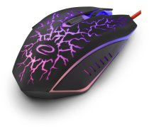 Esperanza 6-pogu optiskā EGM211 Lightning Optical Gaming Mouse Red