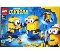 Lego   Minions Brick-built Minions and their Lair 75551 876 gab.