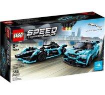 Lego   Speed Champions Formula E Panasonic Jaguar Racing GEN2 Car & Jaguar I-Pace eTrophy 76898 76898 565 gab.