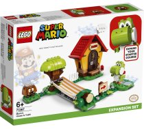 Lego   Super Mario Mario's House & Yoshi Expansion Set 71367 71367 205 gab.