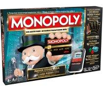 Hasbro Monopols ar bankas kartēm