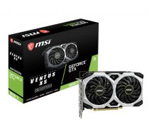 MSI GeForce GTX 1660 Ti VENTUS XS 6G OC, Dual fan, 6GB GDDR6, HDMI, 3xDP