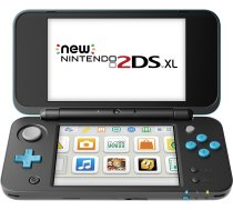 New Nintendo 2DS XL black Lime green incl. Mario Kart 7