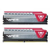 Patriot Viper Elite Series 16GB 2400MHz CL15 DDR4 DIMM Red KIT OF 2 PVE416G240C5KRD