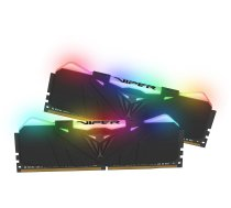 Patriot Viper RGB DDR4 Black 16GB 3200MHz CL16 DDR4 KIT OF 2 PVR416G320C6K