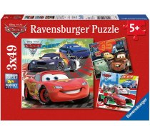 Ravensburger Disney Cars 09281, 3x49 gab.