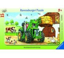 Ravensburger Frame Puzzle Tractor On The Farm 15pcs 060443