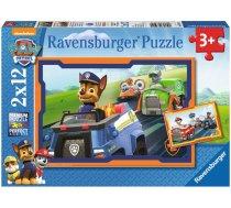 Ravensburger Paw Patrol 07591, 2x12 gab.