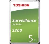 Toshiba S300 Surveillance 5TB HDD 128MB HDWT150UZSVA