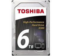 Toshiba X300 6TB HDD 128MB SATAIII 128MB HDWE160EZSTA